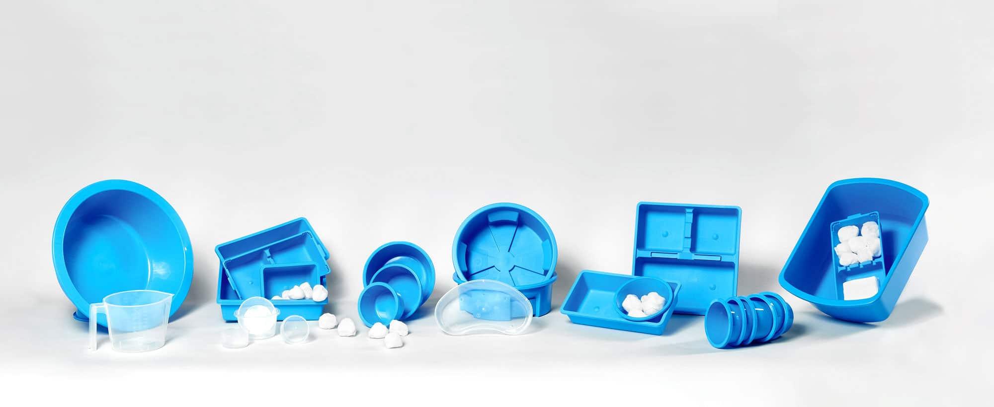 Slider Kunststoffschalen Sortiment