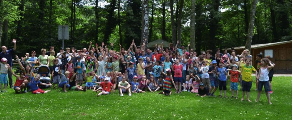 Die Kinder im Kinderheim Pauline