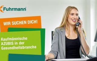 Fuhrmann GmbH in Much sucht kaufmännische Auszubildende für 2018