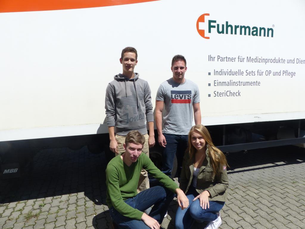 Azubis von Fuhrmann