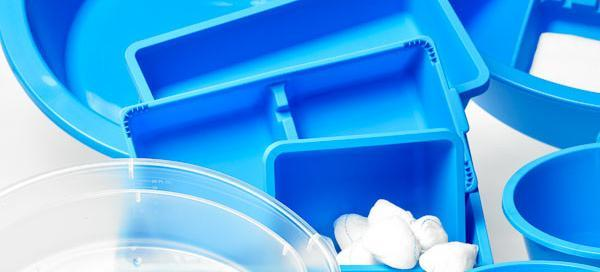 Sterile Schüsseln zur Nutzung bei medizinischen Behandlungen