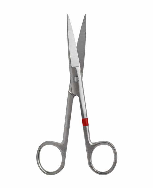 Chirurgische Schere Spitze