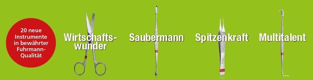 Einweginstrumente von Fuhrmann